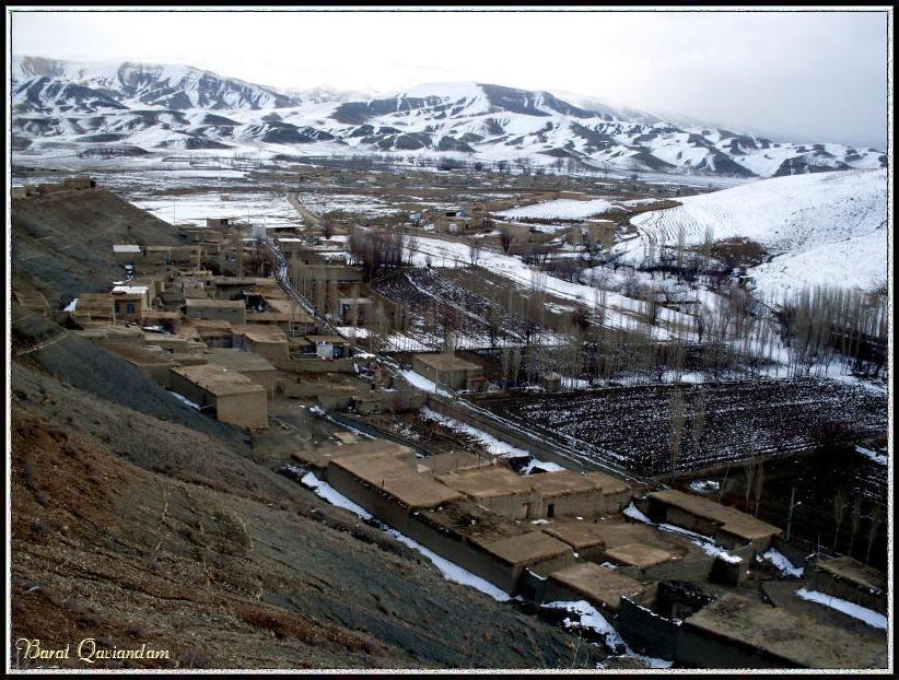 روستای اماموردیخان قوچان - زمستان 1388