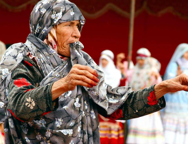 عروسی کرمانج زبان ها در اطراف قوچان - Dawet Kurmancî - Quchan - Bakûri Xorasani