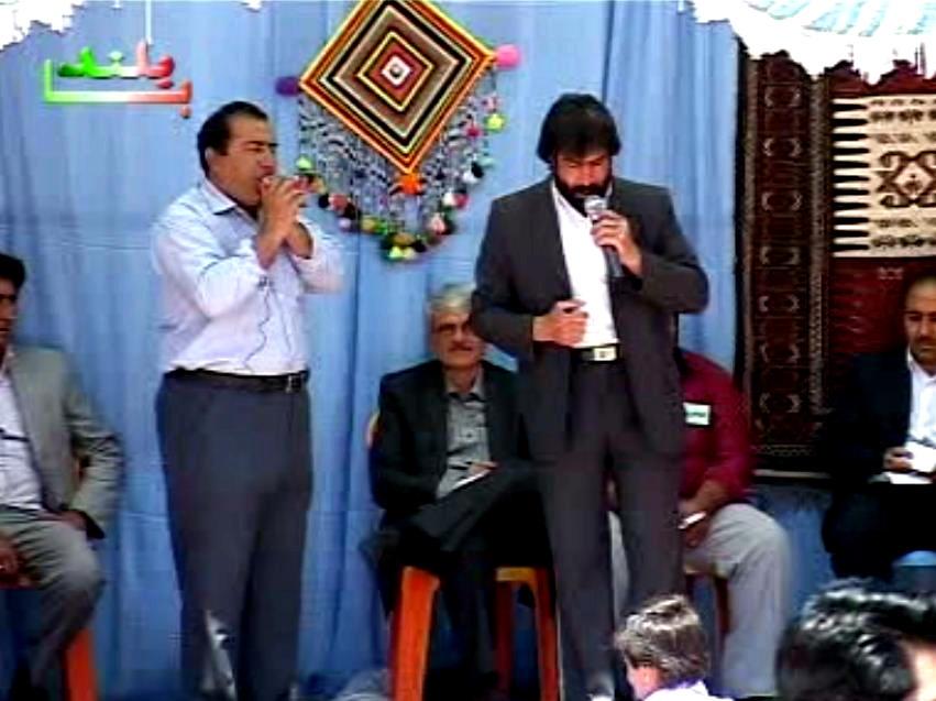 مظفر حمیدی خواننده (عاشق) کرمانج در شمال خراسان