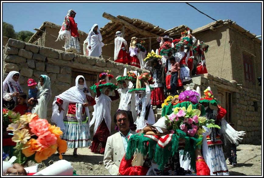 جشن عروسی کرمانج های شمال خراسان در روستای سرانی شیروان