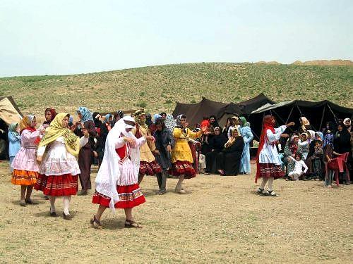 عروسی در میان کوچ نشینان کرمانج شمال خراسان